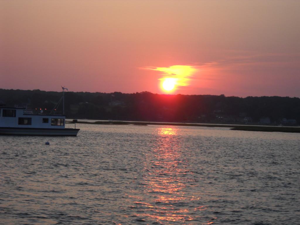 Sunset at Westport Point