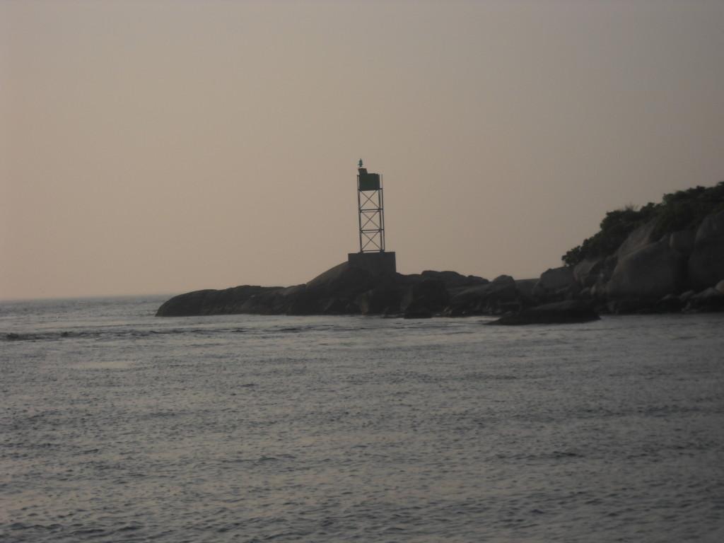 Leaving Westport Harbor