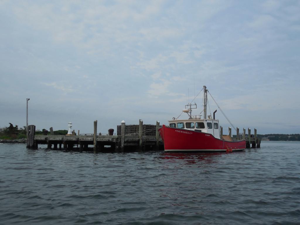 Dutch harbor approach