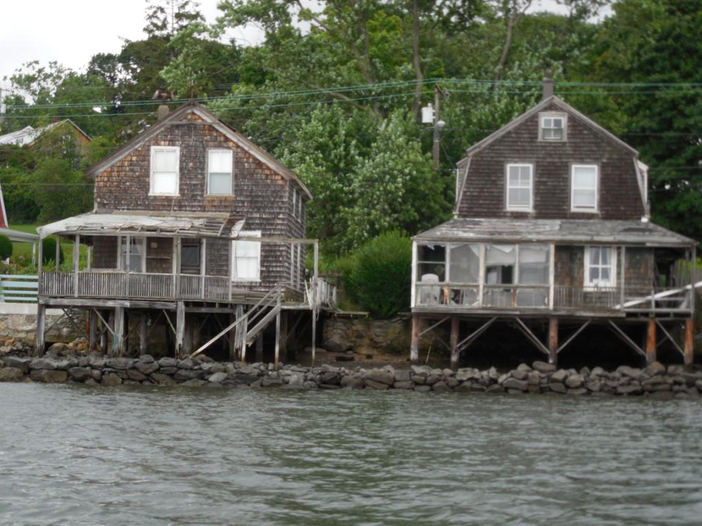Tiverton waterfront scene
