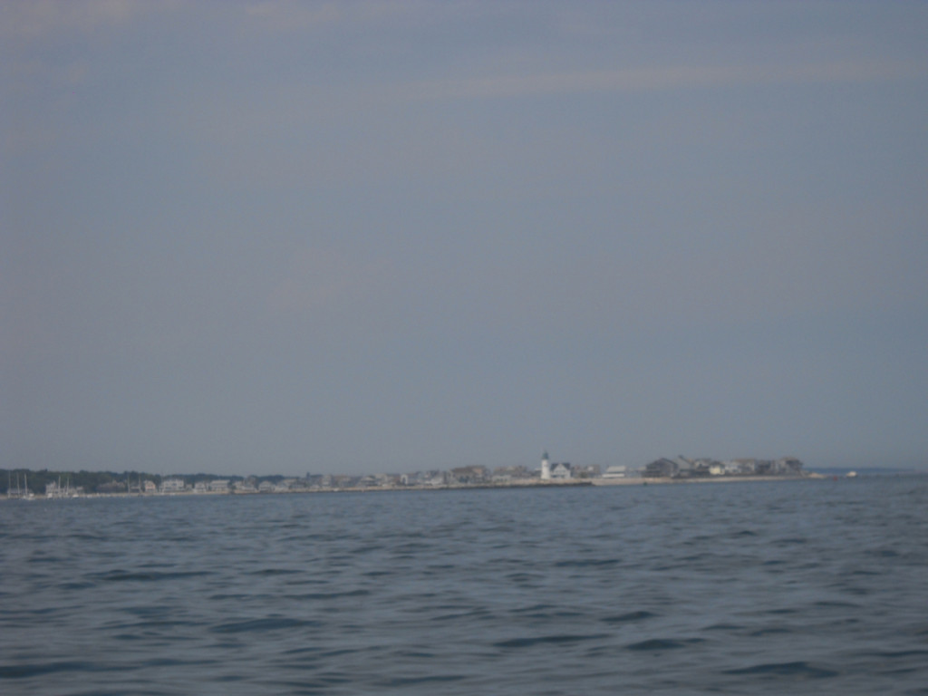 Approaching Situate Harbor.